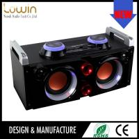 China Fashion dancing music portable bluetooth speaker with fm radio & led light bluetooth speaker on sale