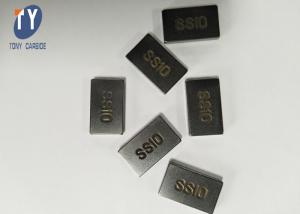 China Wear - Resisting Tungsten Carbide SS10 Tips Carbide Tip Inserts For Quarry Machince on sale
