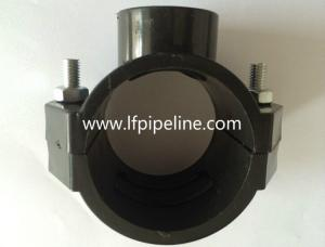 China Saddle clamp for ductile iron pipe/pvc pipe/steel pipe on sale