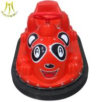 Hansel amusement park battery operated plastic battery bumper car