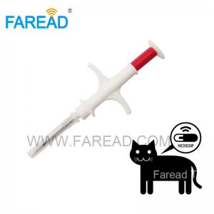 China FRD026N1 RFID Animal Microchip Syringe for dog cat pets on sale