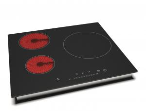China Home Kitchen Appliance Electric Induction Cooker 6000W 590*520 mm Ceramic Glass on sale