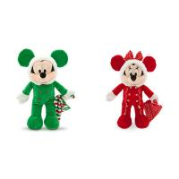 Festival Party Red and Green Disney Plush Toys logo available