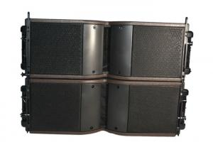 China Baltic Birch Plywood Line Array Speaker System 2 X 8 Inch SubWoofer 55 Hz - 20K Hz on sale