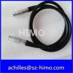 0B 3 pin straight plug lemo cable assembly