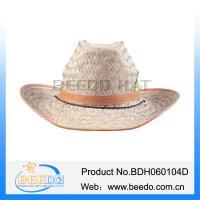 2015 new fashion design mexico sombrero straw hat