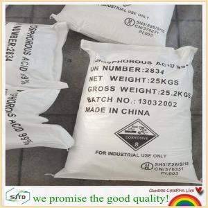 China exporting 99%min, Phosphorous Acid, 10294-56-1 with excellent quality on sale