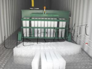 China Energy Saving Industrial Ice Block Making Machine Anti Corrosion on sale