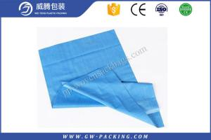 China Eco Friendly Poly Weave Bags , 50 KG Food Grade Bopp Laminated Pp Woven Bags on sale