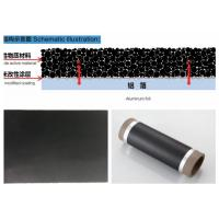 China High Purity Carbon Coated Aluminum Foil 100 - 8000 Meter Roll Length on sale