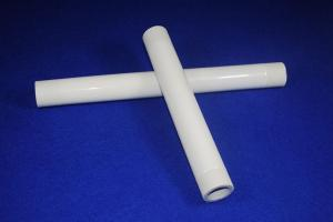 China Customized High Intension Solid Resist 95% - 96% Alumina / AL2o3 Ceramic Tube on sale
