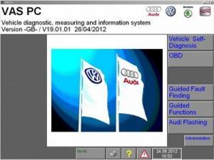 China Brand new 2015.1 VAS PC software for VW SEAT SKODA AUDI BENTLEY on sale