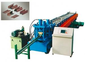China Shelf Rack roll forming machine with Punching, PLC Control, CE Approval on sale