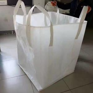 China Circular Woven Pp Industrial Bulk Bags 1000KG Breathable Moisture Proof on sale