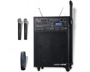 China système de haut-parleurs sans fil portatif de PA de microphone de la fréquence ultra-haute 250w on sale
