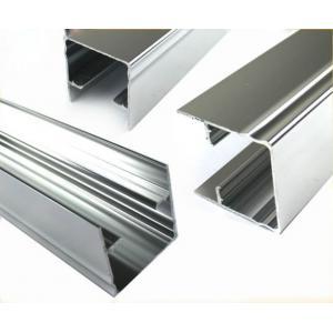 L'extrusion en aluminium chimiquement polie d'angle pour Windows et les portes ISO9001 ont approuvé