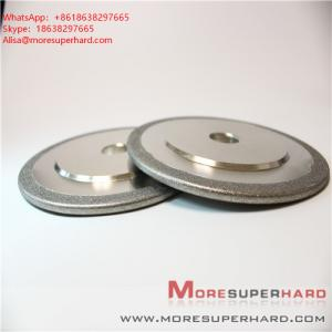 China Electroplated Diamond/ CBN Grinding Wheels for Profile Forming or Surface Grinding of Marble  Alisa@moresuperhard.com on sale