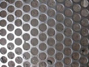 China Hoja de acero perforada on sale
