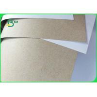 FSC Certificated 250 300 350GSM White Horse Duplex Board Gray Back