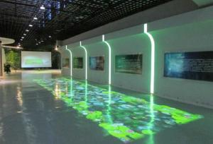 Captivating Quality Indoor Advertising Interactive Floor Projectors For Exhibit Fair /  Wedding Party For Sale ...