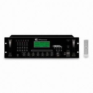 China Amplificador del mezclador de la zona 60/120/240/350W del contador de tiempo 5 con CD + los jugadores MP3 + el sintonizador on sale