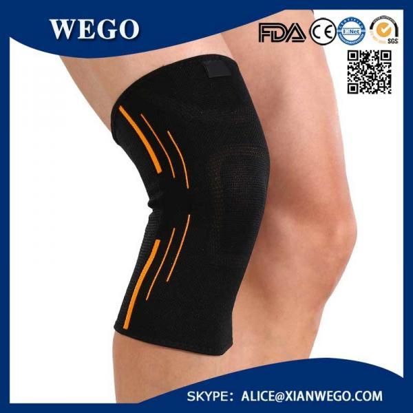 a6dbc276d5 Sports Knee Brace Compression Sleeve Elastic Non-Slip 3D Circular Knitti  Images