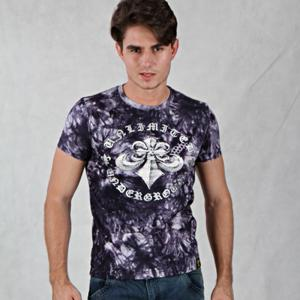 China Fashion summer printed cotton T-shirt for men on sale