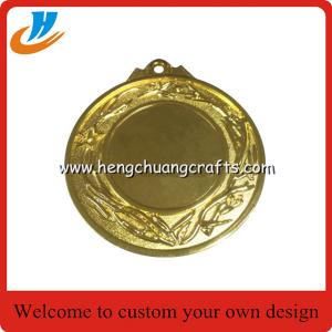 China China stock metal blank medals, brush antique bronze blank race medals cheap price on sale