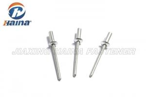 China Aluminum Pop Rivets Round Body , Countersunk Head Closed End Rivet Cold Forging on sale