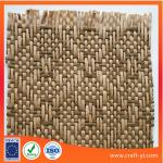 woven straw fabric for hats in natural material textile fabric