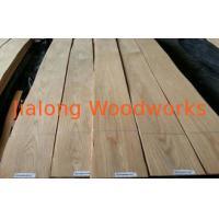 China Sliced Cut Oak Dyed Wood Veneer For Furniture , Eliminating Stain on sale