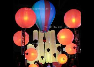 China Floating Advertising Inflatable Lighting Decoration Balloon 800 Watt Used On Water on sale