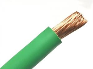China Size 1/0 2 Soft 600 Amp Welding Cable , Bare Copper Welding Cable 35mm2 70mm2 Rubber Superflex on sale