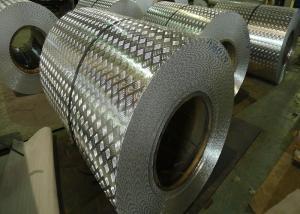 China Anti Skid Aluminum Diamond Plate Stair Treads 1.0mm 6061 Aluminum Sheet For Elevators on sale