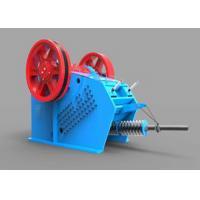 Heavy Duty Toggle Plate Jaw Crusher V Series Gabbros Hydraulic Crushing Machine