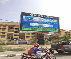 China Radiant hd advertising led video wall rental P3.91 Super Clear Vision on sale