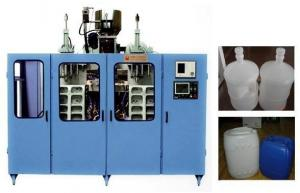 China Full - Auto PE Plastic Bottle Making Machine 8L-20L Double Station ABLB90II on sale