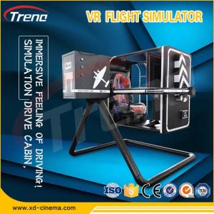 9D VR 720 Degree Rotating Cockpit VR 360 Degree Flight Simulator For