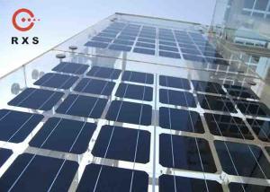 China Polycrystalline 200 Watt Solar Panel , BIPV Solar Modules 25% Transparent on sale
