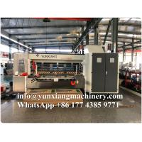 China YUNXIANG Lead Edge High Definition Flexo Printer Slotter Die Cutter With Stacker on sale