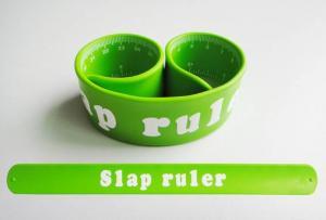 China ruler bracelet,snap ruler bracelet,slap band,snap wristband,slap ruler on sale