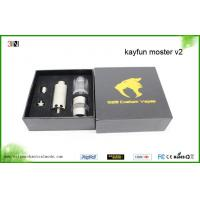 China Rebuildable Kayfun Monster v2 Atomizer with Custom Drip Tip on sale