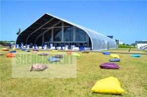 China 10000 Square Meters Specical Event Tent Aircraft Hanger Temporary Long Life Span Building on sale