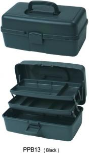China Two Foldup Trays Large Art Storage Containers Plastic Box 32 X 20 X 16cm on sale