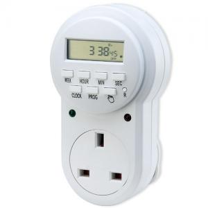 China Best UK Weekly Digital Programmable AC Plug in Timer Light Timer Control Switch 7 Day for Grow Lights on sale