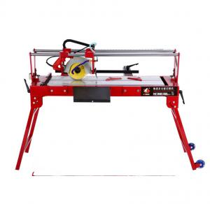 China small portable slotted edging polishing chamfering simple marble and granite tile saw cutting machine on sale