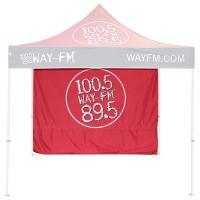 Commercial Trade Show Canopy Tent 10x10  600D Oxford Fabric With Back Walls