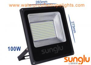 China Waterproof 100W Outdoor LED Flood Lights Aluminium Body For Gas Station on sale