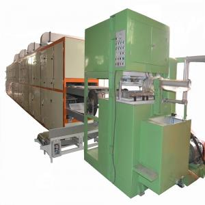 China 4 Molds Recycled Paper Pulp Molding Machine , Egg Crate Making Machine on sale