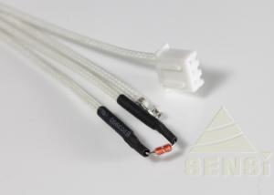 China Precision Glass Encapsulated NTC Thermistor For Induction Cooker Fast Response on sale